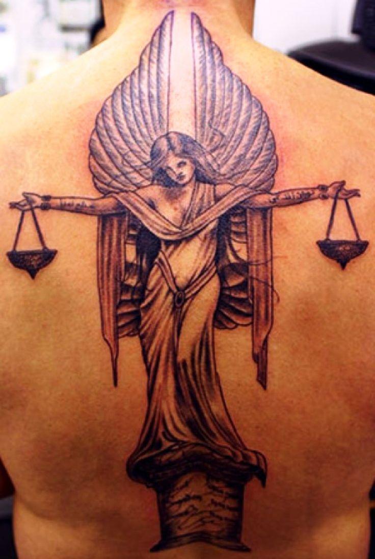 Libra Zodiac Tattoo