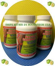3 Pack PURE Garcinia Cambogia Natural Weight Loss Diet Pill 60% HCA Dr Oz