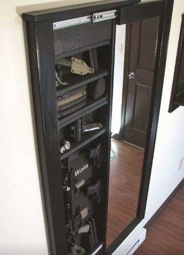 Awesome Mirror/Hidden Gun Safe!
