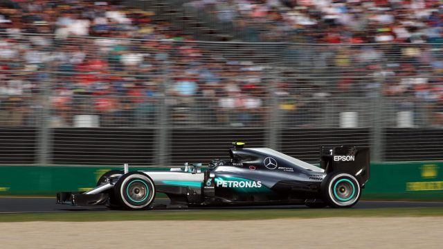 Nico Rosberg (GER) Mercedes-Benz F1 W07 Hybrid at Formula One World Championship, Rd1, Australian Grand Prix, Race, Albert Park, Melbourne, Australia, Sunday 20 March 2016. © Sutton Motorsport Images
