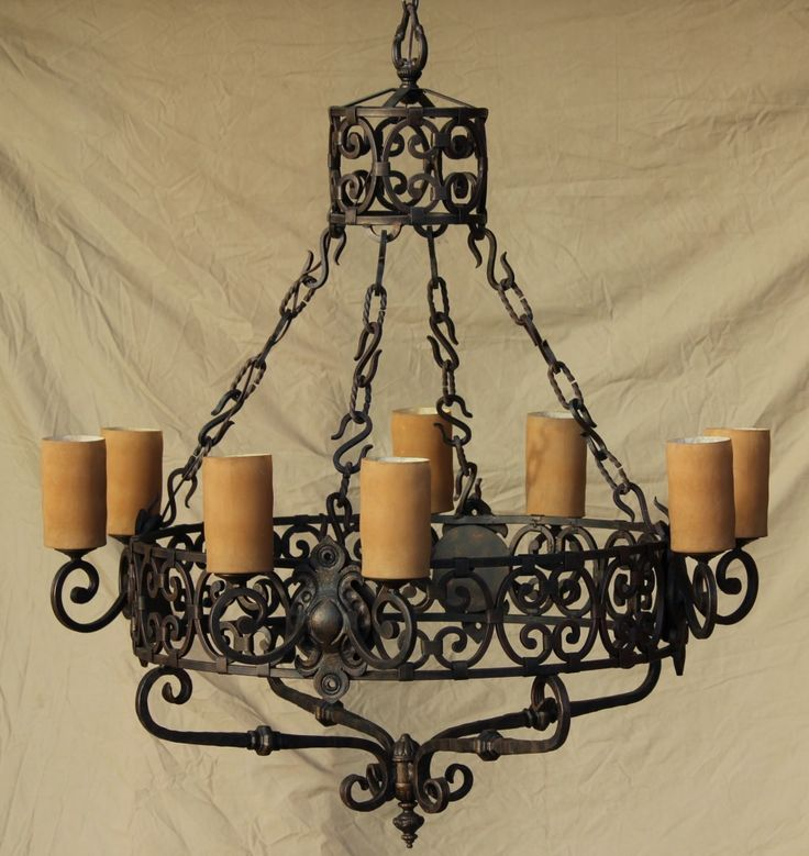 Classic Wrought Iron Chandeliers