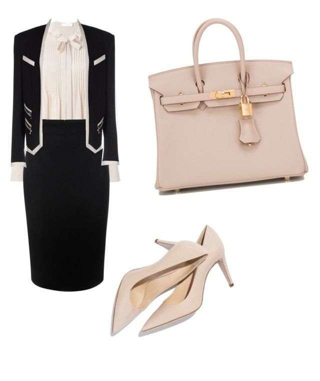 """h.k"" by hanika15 on Polyvore featuring beauty, Chloé, Alexander McQueen, Balmain and Hermès"