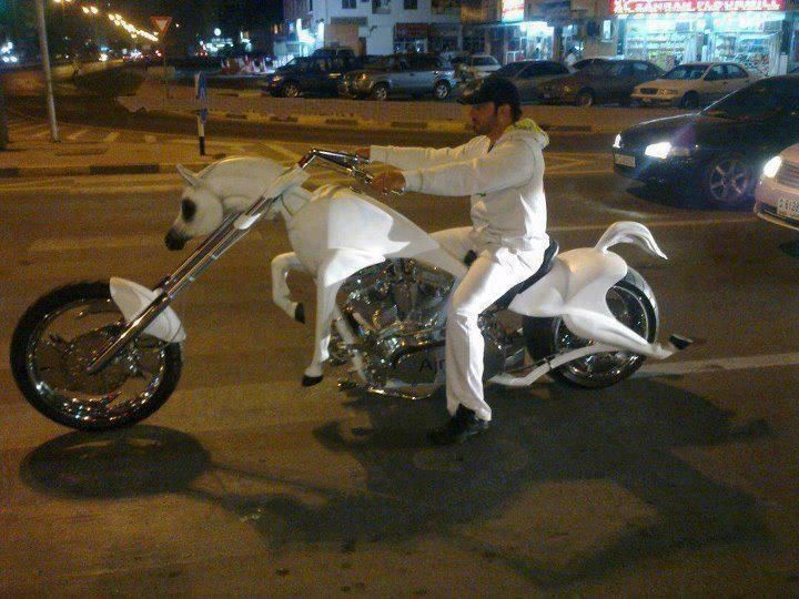 Motorcycle White Motorcycle Cars: Well Here's Your White Knight Riding In On A White Horse