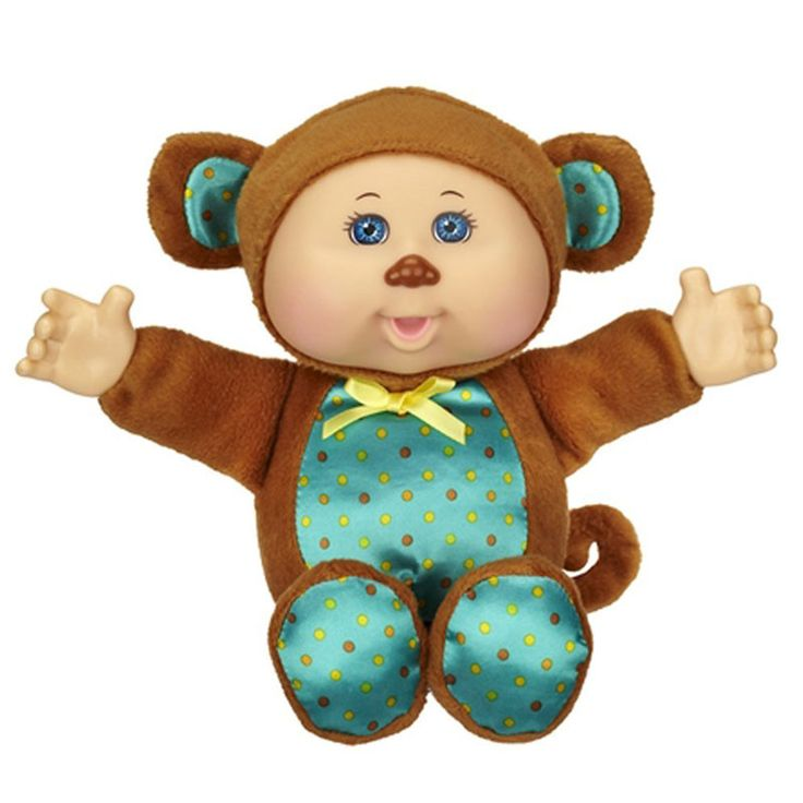 Cabbage Patch Kids Babies Dress up and Play the Animal Way