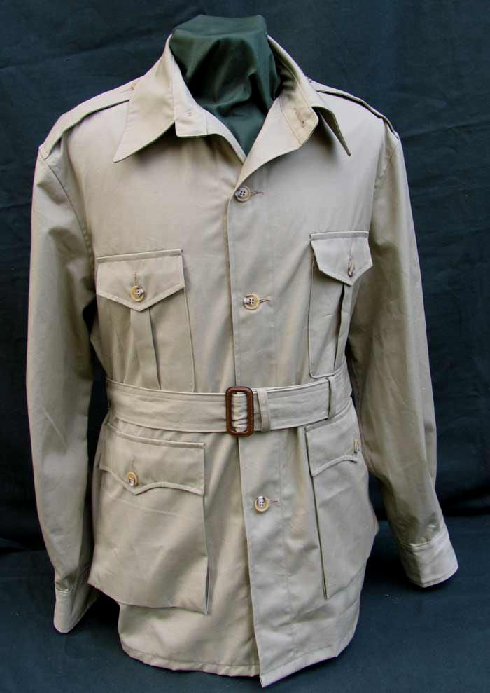 Moreover, vintage safari jackets are proudly offered by eBay top-rated sellers, so you can shop with the utmost confidence. Rejoice with free shipping in several of these listings. Enjoy low prices for safari jackets in eBay's listings and say goodbye to struggling in vain with your tedious clothing.