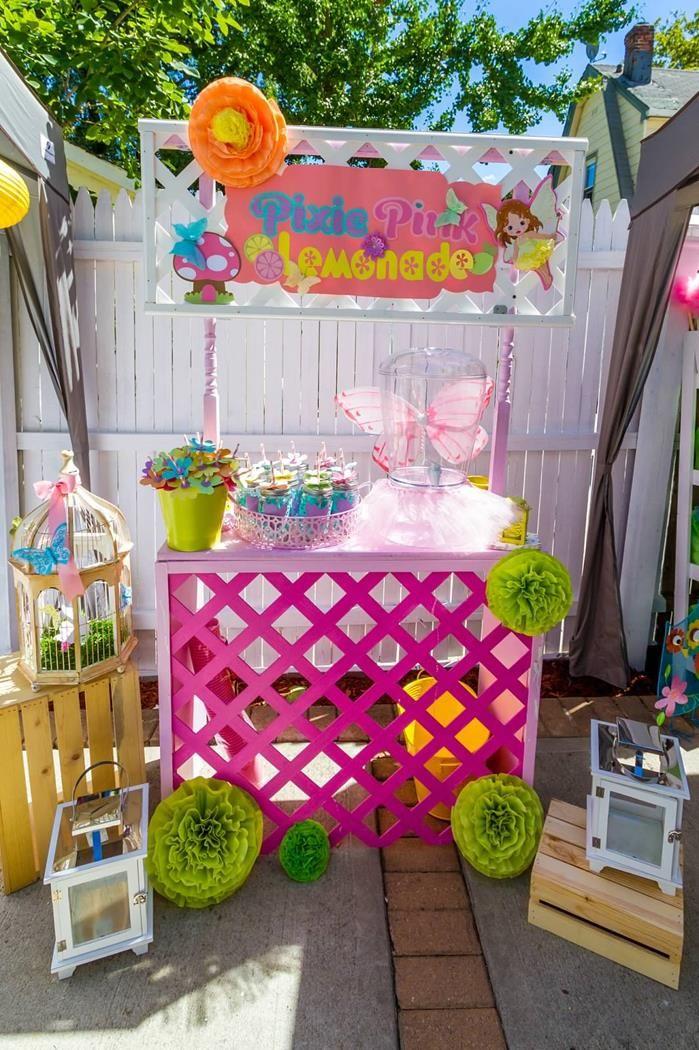 Inspiration Zu0027s Birthday / Fairy Garden Party   Photo Gallery At Catch My  Party