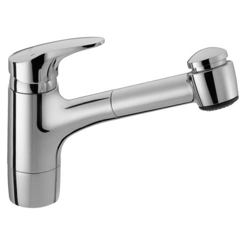 Simple Hansa Mix Sink Mixer Retractable Spray