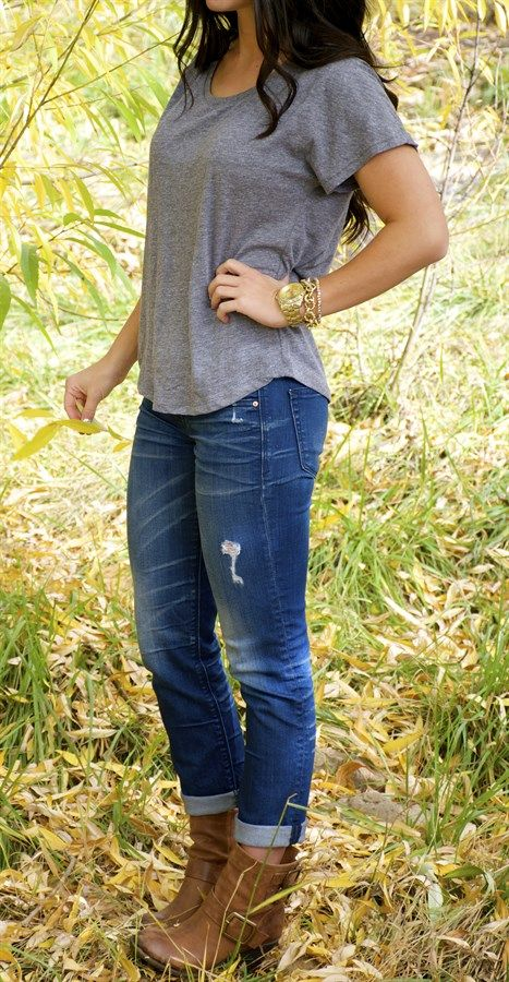 Perfect Dolman Tri-Blend Top Fit | Jane