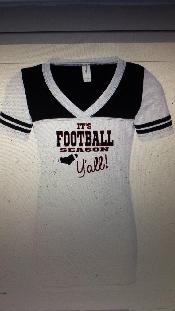 football shirt, football season, football mom, custom football tee, football jersey, school spirit football bling tee football glitter shirt