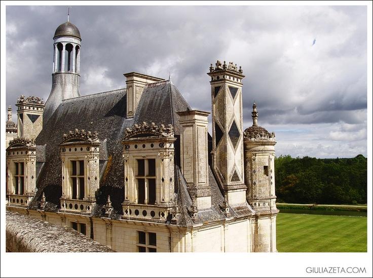 Chateau de #Chambord, Val de Loire, France | Castello di Chambord, Valle della Loira, Francia [copyright GIULIAZETA.COM]