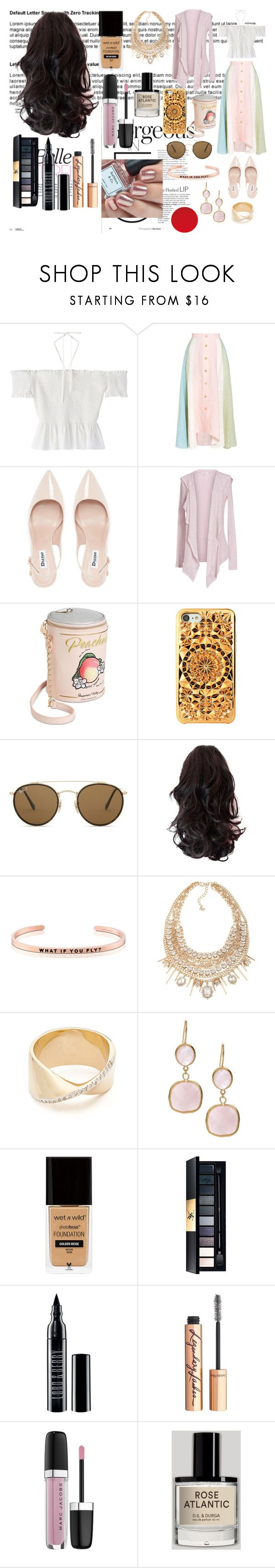 """""""What if you fly?"""" by it-srabina ❤ liked on Polyvore featuring Peter Pilotto, Dune, Velvet by Graham & Spencer, Betsey Johnson, Felony Case, Ray-Ban, MantraBand, ABS by Allen Schwartz, Adina Reyter and Rivka Friedman"""