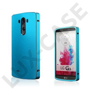 Brandes (Blå) LG G3 Aluminum Bumper