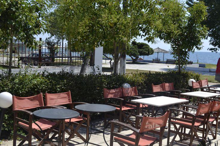 Enjoy our coffee and food near the sea!!! #Raidos