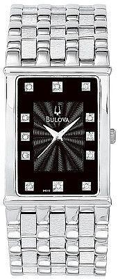 Bulova Men's Diamond Watch 96D12