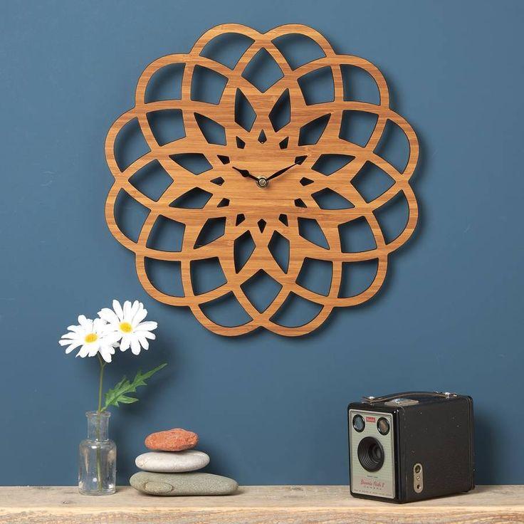 Large Modern Geometric Clock