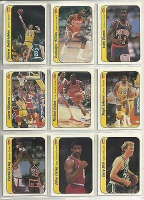 cool 1986-87 Fleer Basketball 11-card sticker set Michael Jordan (Rookie Year) - For Sale View more at http://shipperscentral.com/wp/product/1986-87-fleer-basketball-11-card-sticker-set-michael-jordan-rookie-year-for-sale/