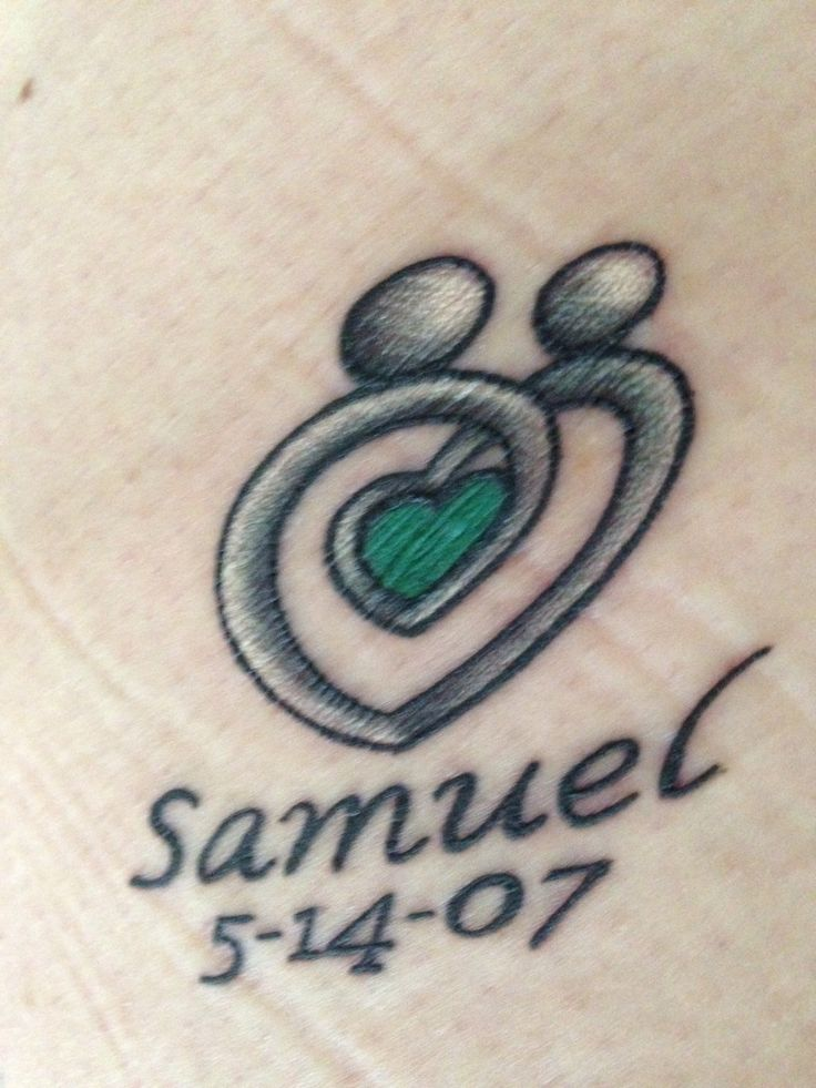 19 best heart tattoo with no name images on pinterest for Tattoos with birthstone colors