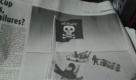 "The Royal Indonesia TV Online: The Jakarta Post"" Minta Maaf dan Tarik Karikatur ""...The Jakarta Post membuat permintaan maaf  yang diunggah pula di laman dan link-nya dipasang di akun terverifikasi di Twitter. Permintaan maaf sudah diunggah The Jakarta Post , antara lain di laman resminya.  Selain meminta maaf, The Jakarta Post menyatakan pula menarik karikatur editorial yang dimuat pada halaman tujuh edisi Kamis pekan lalu itu."