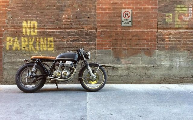 1975 Honda CB750 Brat Style -Photo by Kaetyn St. Hilaire #motorcycles #bratstyle #motos   caferacerpasion.com