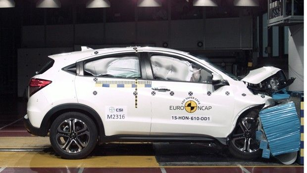 honda cr v crash test ratings 2011