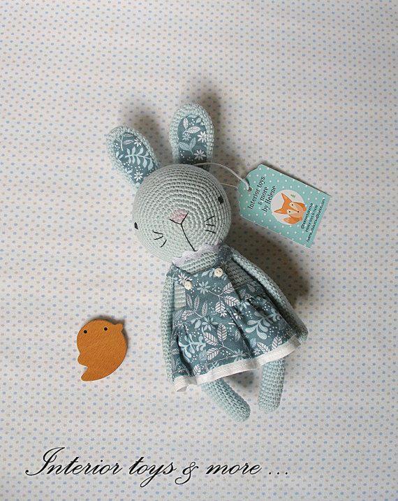 Amigurumi, crochet amigurumi bunny, gift, crochet toy, gift for baby, handmade toy