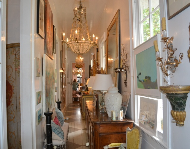 New Orleans Antiques Via Interior Canvas