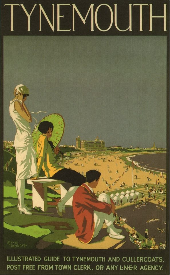 British travel poster