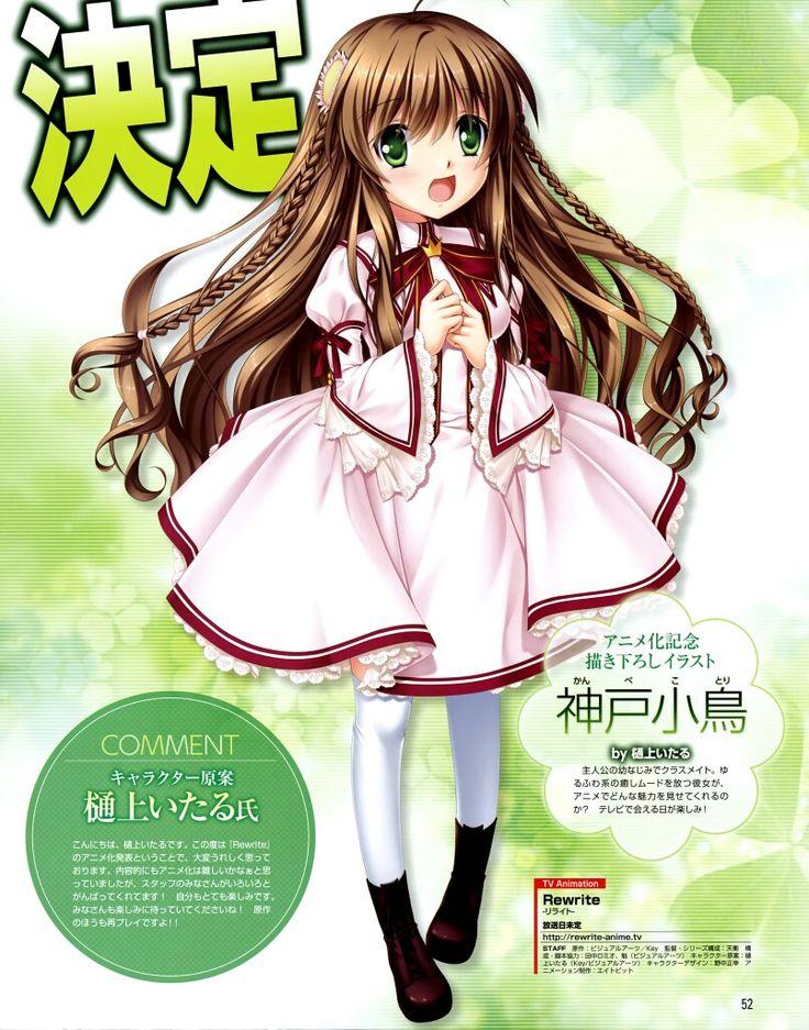 Hinoue Itaru Mangaka 8bit (Studio) Studio Rewrite Visual