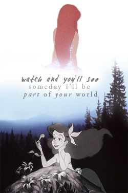 The little mermaid quote                                                                                                                                                                                 More