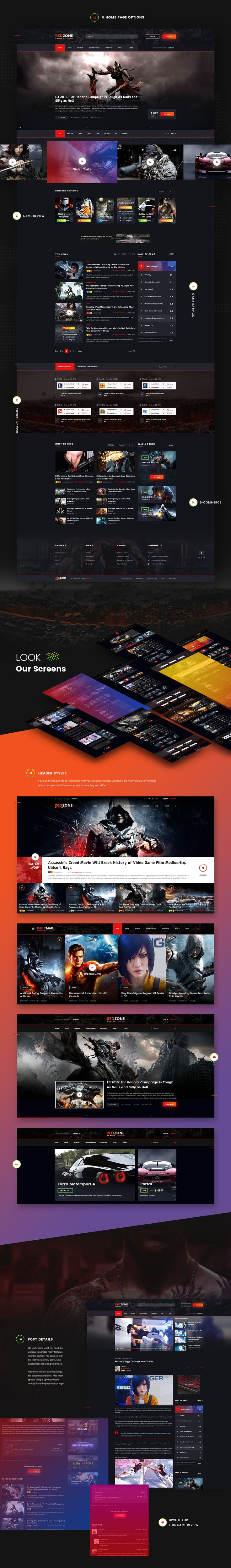 DailyMagz is modern template has been designed for Newspaper, Magazine, Blog. The design is made of creativity & imagination so it can provide the actual useful section to its users. This is just part of the great design we are doing on DailyMagz