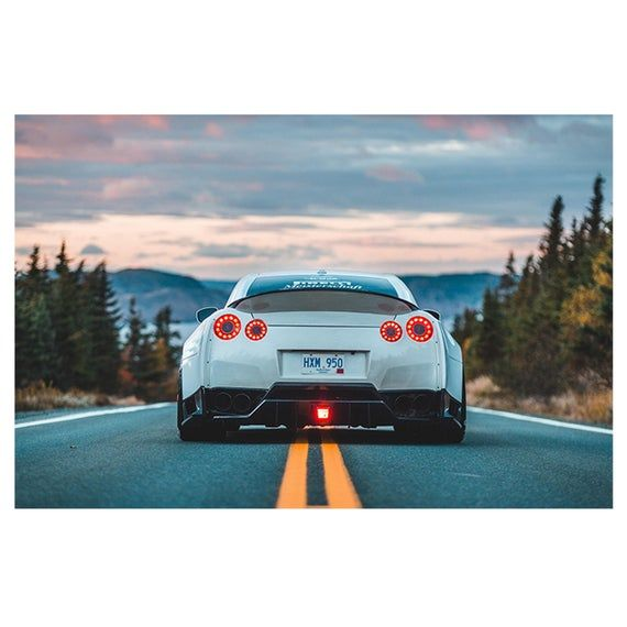 2014 286632 stripes white silver. Wall Sticker Nissan Skyline Gtr Super Car Poster Self Adhesive Etsy In 2021 Nissan Gt Nissan Gt R Car Wallpapers