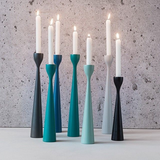 Rolf™ candlesticks by FREMOVER. Photo and Retailer: Designforevig Norway