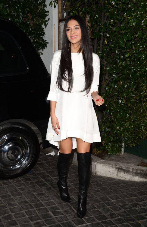 fashion-boots:  Nicole Scherzinger at the Topshop Topman LA...
