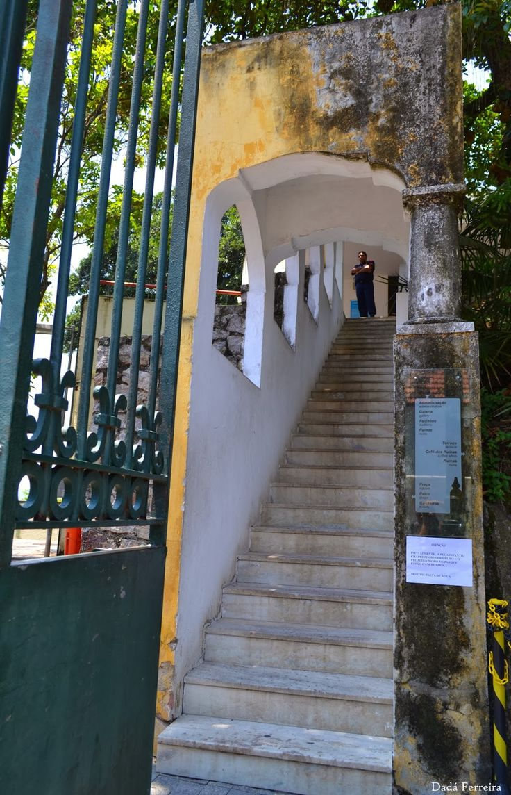 Parque das Ruínas - Santa Teresa - Rio de Janeiro