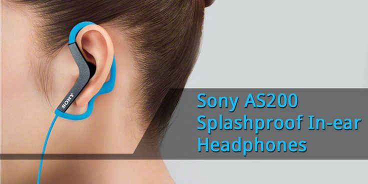 Try the Sony AS200 Splashproof In-ear Headphones (MDR-AS200), which just keep playing when you're training, come rain or sunshine. What's more, they're available at a great price. Check them out and buy at - https://goo.gl/iPfaOW