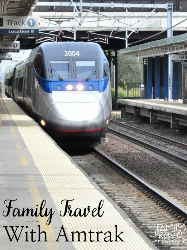 Family travel with Amtrak