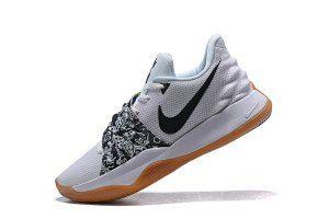 57d6599fc4c9 Mens Nike Kyrie Low EP White Black AO8980 100 Basketball Shoes Kyrie  Basketball