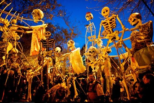 March in the Village Halloween Parade- NYC.. want to go!