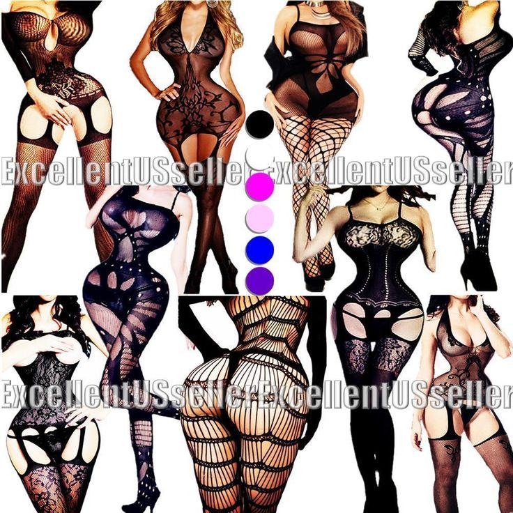 New Bodystocking Fishnet Bodysuit Women Body Stocking Bodycon Nightwear Lingerie #Daisland #BodyStockings
