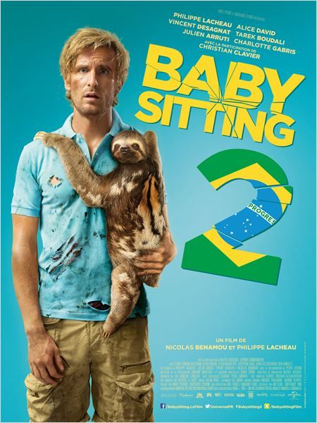 """♥♥♥♥ """"Babysitting 2"""", une comédie de Nicolas Benamou, Philippe Lacheau avec Philippe Lacheau, Tarek Boudali, Julien Arruti...(12/2015)"""