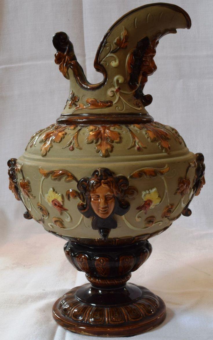 majolica pottery - WILHELM SCHILLER & SON - BOHEMIA