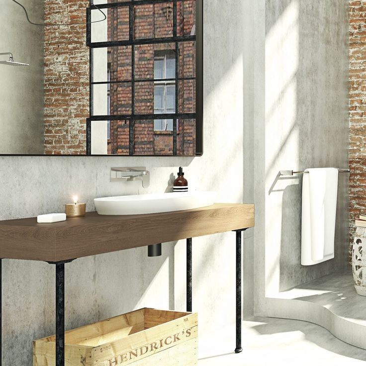 Contura Vitreous China Wall Basin Is Designed For Simplicity With A Timeless  Life. Contura Freeform