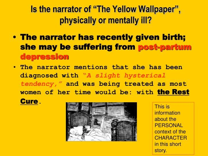 Pin On The Yellow Wallpaper