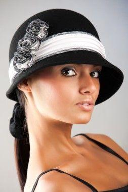 Элегантные шляпы женские фетровые
