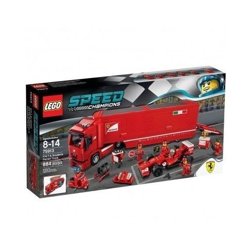 #LegoGames #Formula1 #Ferrari #ScuderiaTruck #F14 #F1 #RacingCar #SpeedChampion #Lego #FerrariTeam