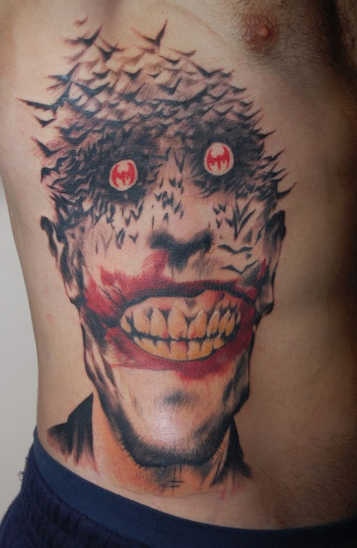 Joker Design Tattoo