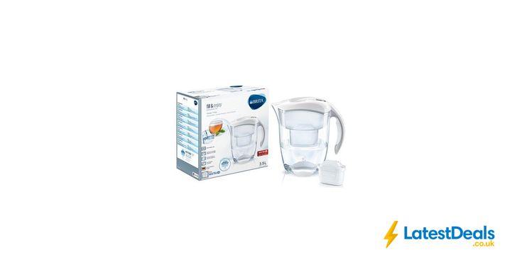 Brita Elemaris Meter XL Water Filter Jug - White *HALF PRICE* Free C&C, £17.49 at Argos