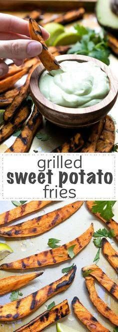 How To Grill Sweet P How To Grill Sweet Potato Fries - perfectly...  How To Grill Sweet P How To Grill Sweet Potato Fries - perfectly cooked with dark grill marks on the outside these sweet potato fries are made exclusively on the grill no boiling requited. Great for an appetizer or a grilling party side dish. Recipe : http://ift.tt/1hGiZgA And @ItsNutella  http://ift.tt/2v8iUYW