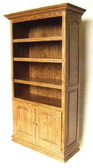 33% OFF амишей Мебель - ручной шейкер и Миссии мебель Онлайн Outlet Store,: Исполнительный Книжный шкаф с дверцами: Дуб: