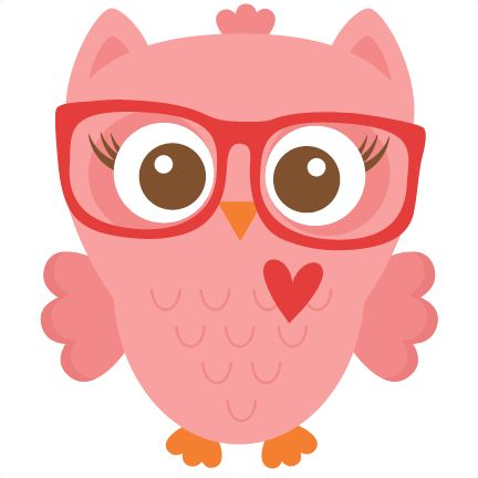 Nerdy Girl Owl scrapbook cuts SVG cutting files doodle cut files for scrapbooking clip art clipart doodle cut files for cricut free svg cuts                                                                                                                                                                                 Más